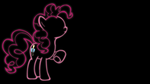 Pinkie Pie Glow Wallpaper (N.C.) by 30ColoredOwl