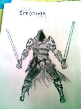 MY SITH DRAWING by FuatK