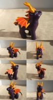Spyro the Dragon by lovelauraland