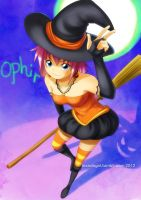 PUMPKIN WITCH by msadagal