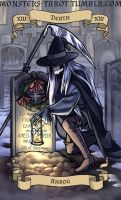 Monster's Tarot -13 Death - Ankou by ninniku