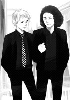 Gerard and Ray by vachuu