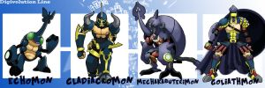 Echomon Digivolutions(part 02) by Gummymon