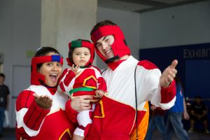 Fanime 2012: Probender Family by anthenii-san