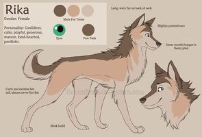 Rika Reference Sheet by The-Nutkase