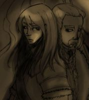 Kili and Fili by darkmanu