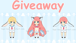 Free Adoptables Giveaway CLOSED by Kupi-Kun