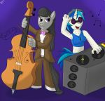 Octavia and Djpon3 by gino456