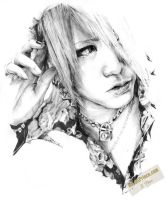 Ruki of the GazettE by Twisted-Saint