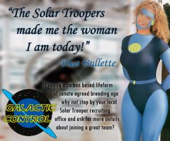 Solar Trooper Recruitment Poster by belly577
