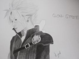 cloud strife by YumeLyd