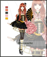 [CLOSED] Gothic Marionette Auction Adopt by Buujang