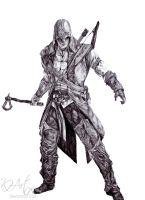 Assassin's Creed III by KHArt08