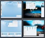 Gnome Shell 3.8 Panacea Blue Suite by The-Panacea-Projects