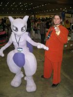 Mewtwo and Giovanni... I guess by AngstyGuy