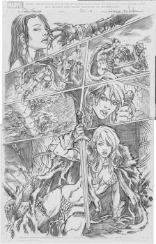 Red Sonja 3 by Adrianohq