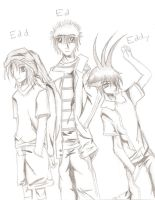 Ed Edd and Eddy by omeay