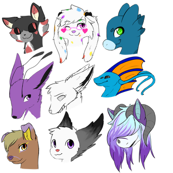 Commission Sheet 2 by cutevulpix56