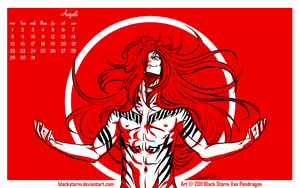 Abarai Renji -Red Hot Devil- by blackstorm