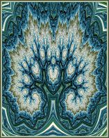 Blue Tree by pinkal09