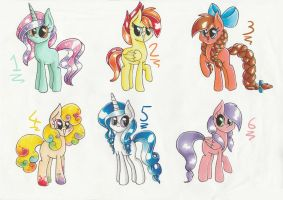 MLP Auction adopts by PumpkinKikile