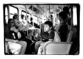 kevin on the bus by dersunde