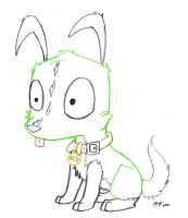 Gir Puppy Sketch by SylvieNe