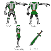 Mii Fighter Plate Armor Outfit Reference Sheet by SillyEwe