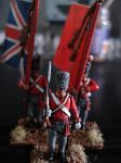 Victrix British officers 28mm by ZhiYu