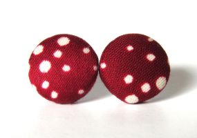 Pin-up earrings by KooKooCraft