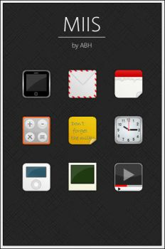 MIIS iPhone Icons by abh83