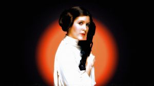 Carrie Fisher Princess Leia V by Dave-Daring