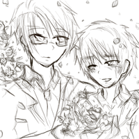 WIP: UsUk wedding by JazminKitsuragi