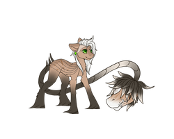 Primal Plant Pony Adopt 1 (CLOSED) **Auction** by April-Cakes