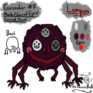Goretober 5: Mask/Covered Eyes/Covered Mouth by GoldenBarrelCactus
