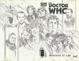 Doctor Who Prisoners of Time #12 Roughs Edition by RobertHack