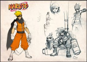 Naruto rough by Pyroow