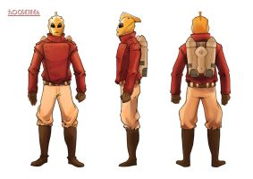 Rocketeer redesign by skinygalaxier