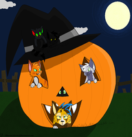 Happy Halloween! by BluestarzStrike