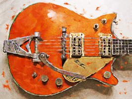 Chet Atkins Gretsch by nicollearl