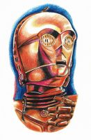 C-3PO by phantomphreaq