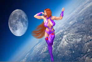 Starfire: On Top Of The World by Lady-Quantum