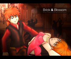 Blossom and Brick by Fanylove19