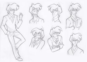 Trevan facial expressions by Missy-Mint