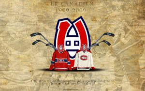 Le Canadien Special 100 ans by clasixart