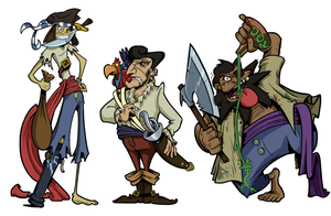 Some Pirates by BoscoloAndrea