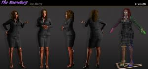 The Secretary Character Sheet 2011 by grico316