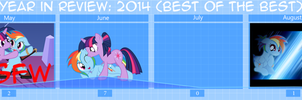 Best of the best from 2014 by RainbowDashie