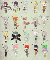 Adoptable Mix Batch - Open by Narita-kun