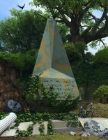 Obelisk on oo-oo-Ah by richmerk
